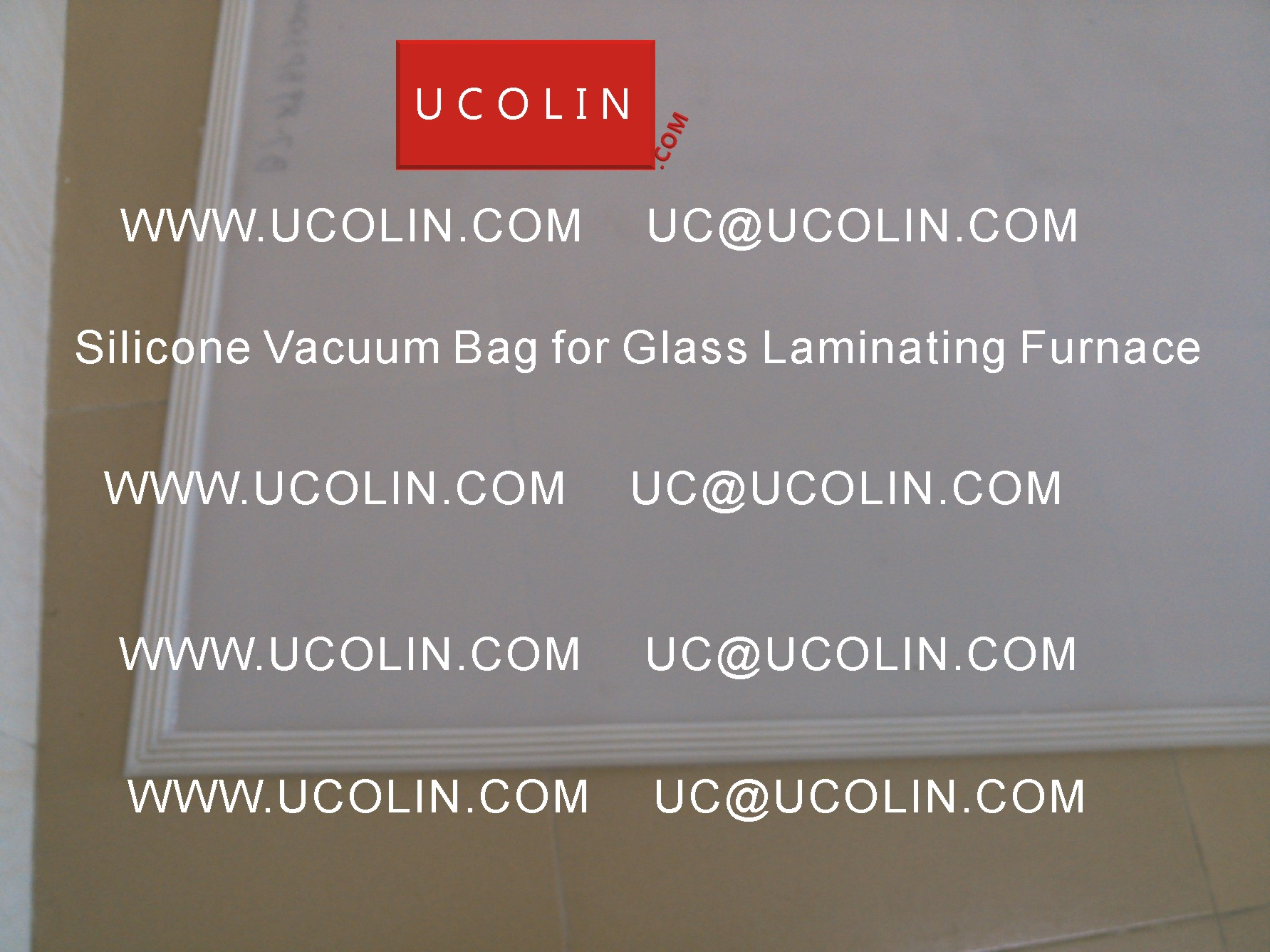 01 Silicone Vacuum Bag for Safety Glass Laminating Furnace