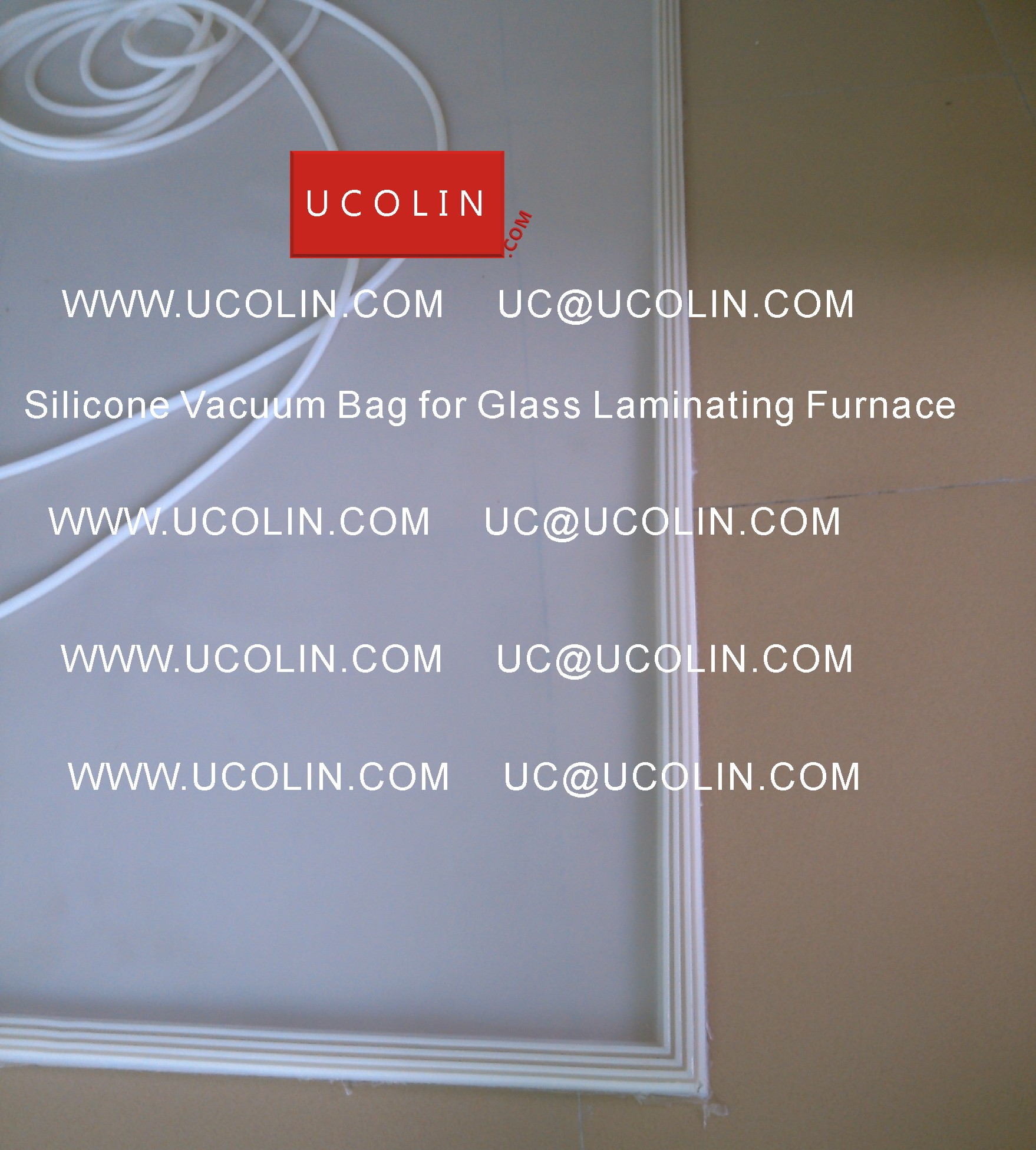 02 Silicone Vacuum Bag for Safety Glass Laminating Furnace
