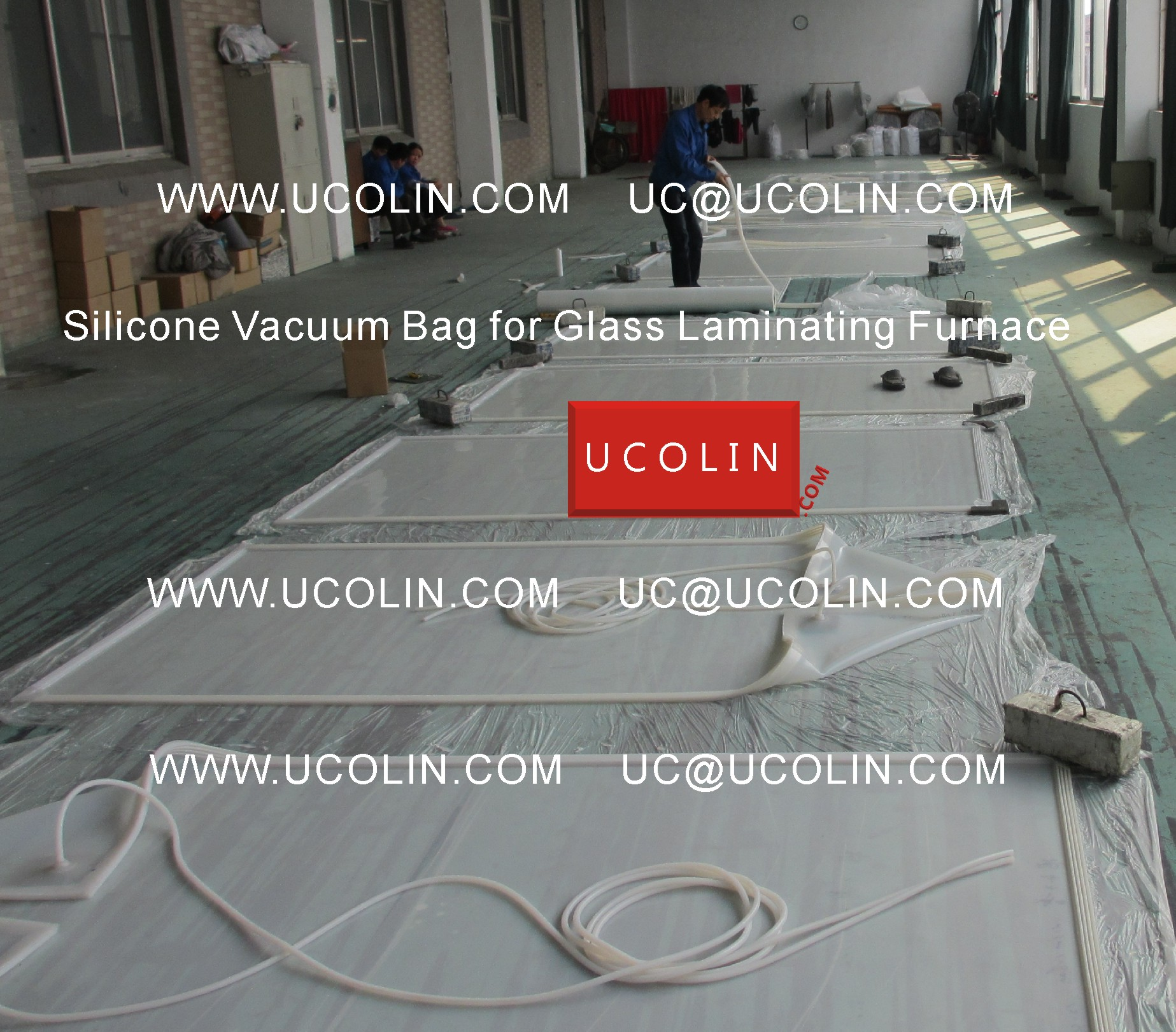 03 Producing of Silicone Vacuum Bag for Glass Laminating Furnace