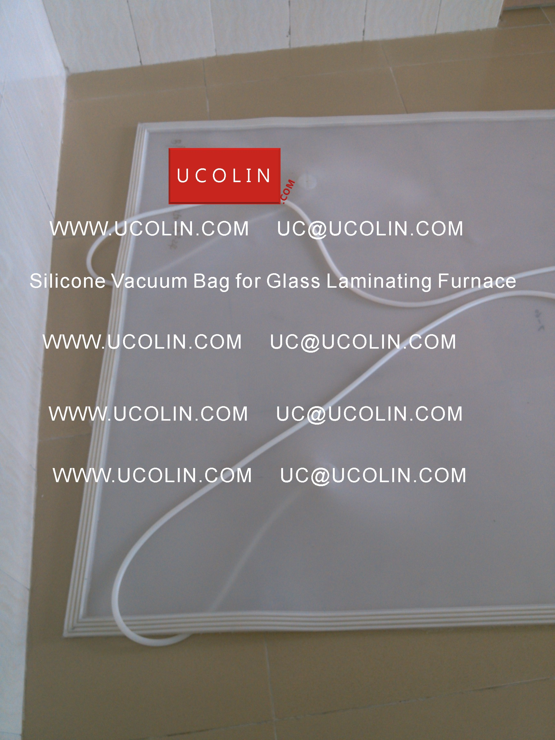 03 Silicone Vacuum Bag for Safety Glass Laminating Furnace