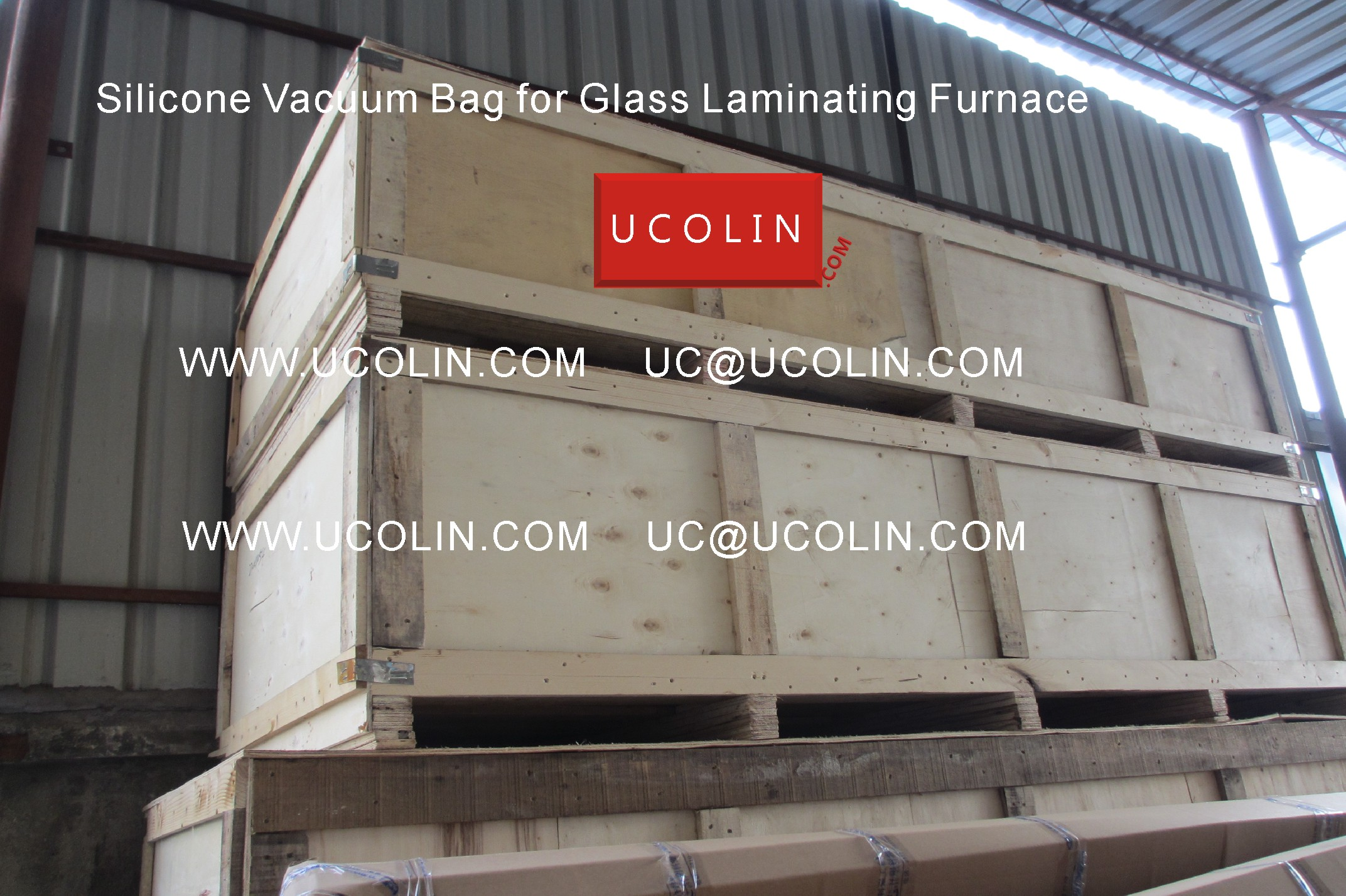 04 Producing of Silicone Vacuum Bag for Glass Laminating Furnace