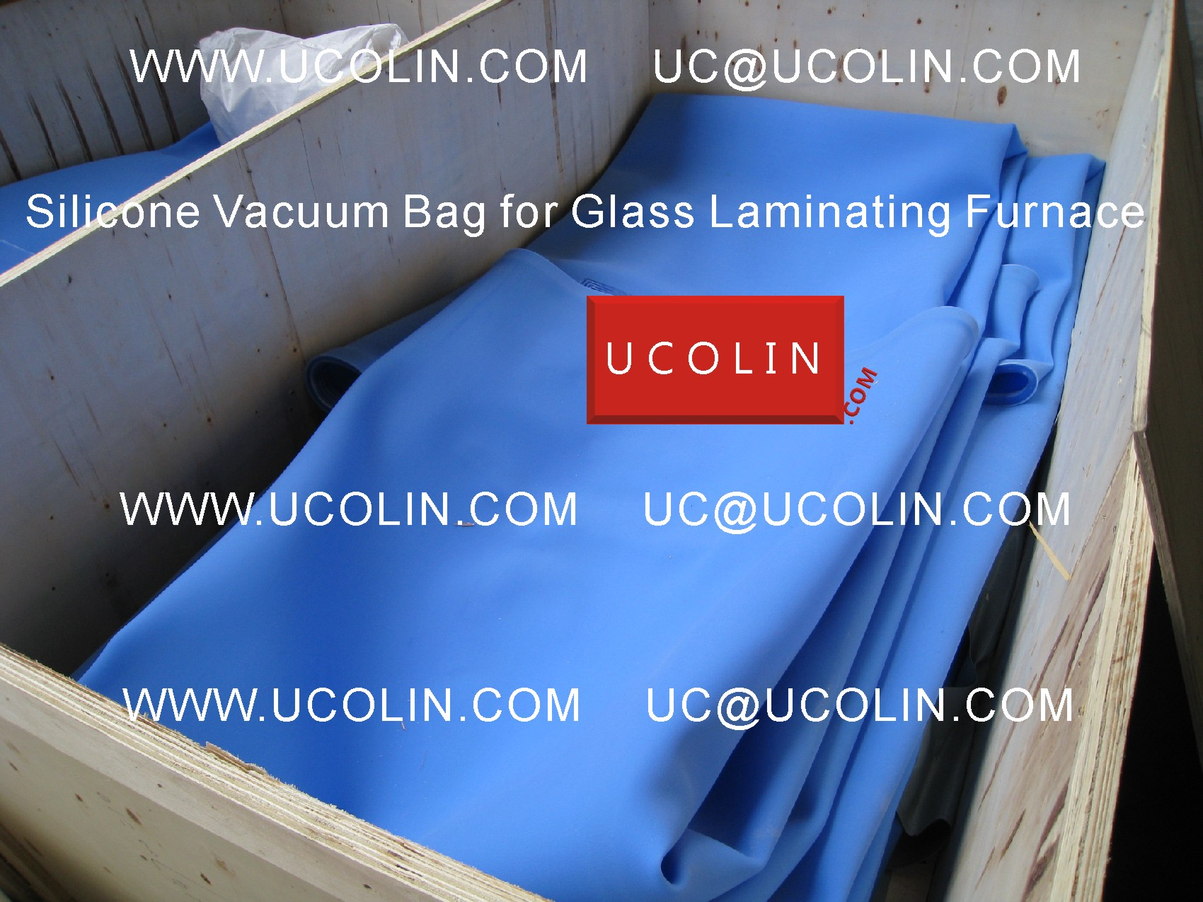 08 Producing of Silicone Vacuum Bag for Glass Laminating Furnace