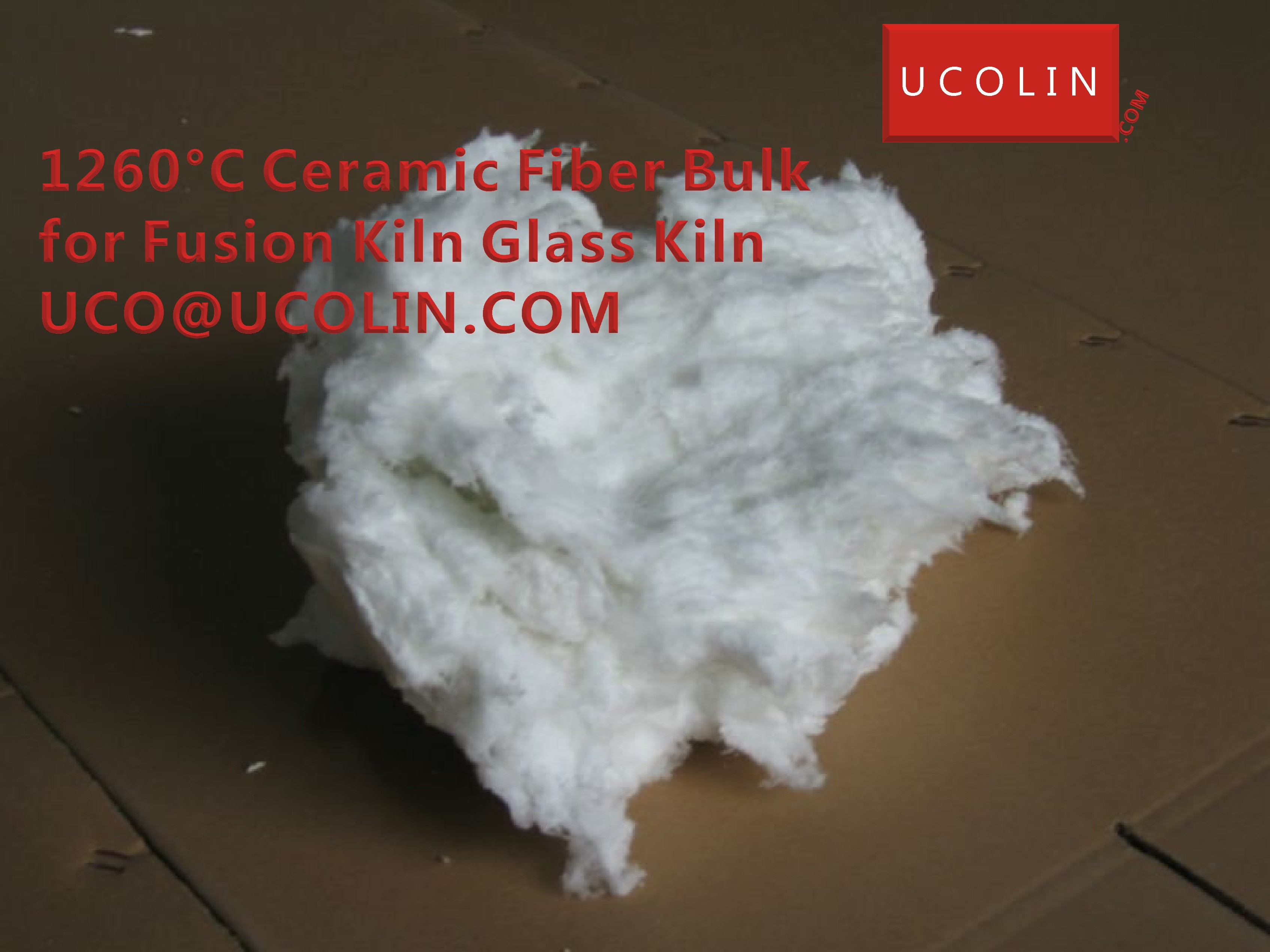1260°C Ceramic Fiber BULK for Fusion Kiln Glass Kiln