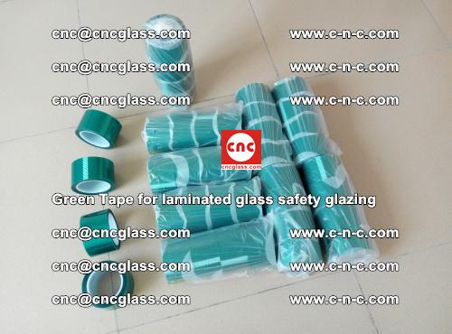 Green Tape for laminated glass safety glazing, EVA FILM, PVB FILM, SGP INTERLAYER (2)