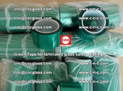 Green Tape for laminated glass safety glazing, EVA FILM, PVB FILM, SGP INTERLAYER (34)