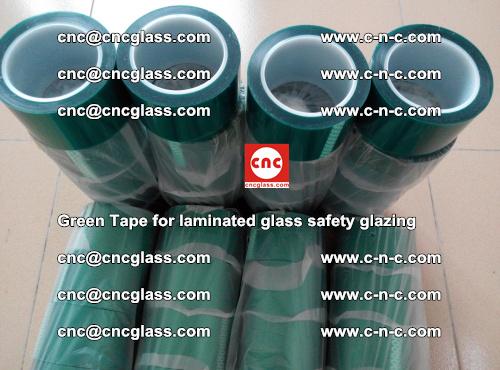 Green Tape for laminated glass safety glazing, EVA FILM, PVB FILM, SGP INTERLAYER (48)