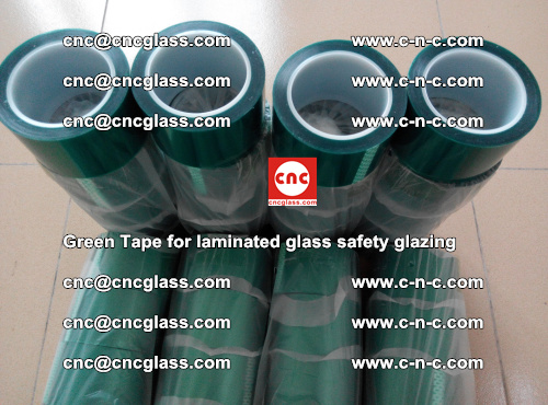 Green Tape for laminated glass safety glazing, EVA FILM, PVB FILM, SGP INTERLAYER (49)