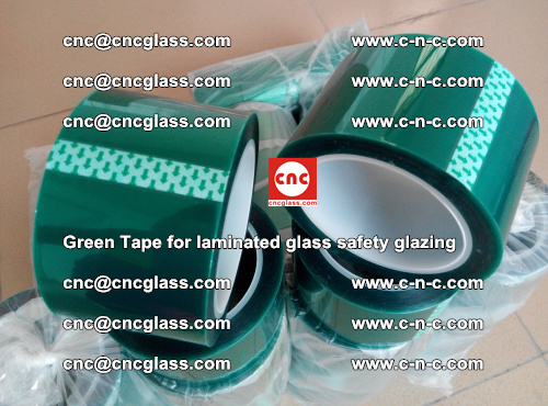 Green Tape for laminated glass safety glazing, EVA FILM, PVB FILM, SGP INTERLAYER (64)
