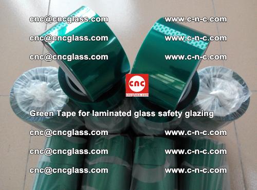 Green Tape for laminated glass safety glazing, EVA FILM, PVB FILM, SGP INTERLAYER (67)