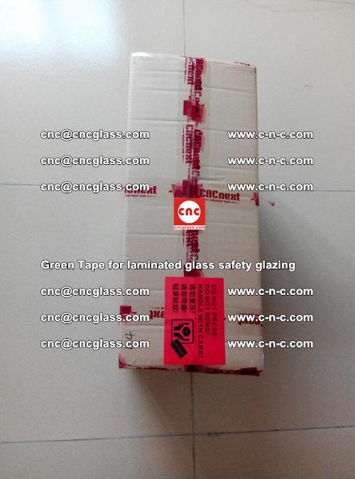 Green Tape for laminated glass safety glazing, EVA FILM, PVB FILM, SGP INTERLAYER (78)