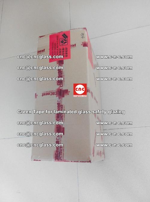 Green Tape for laminated glass safety glazing, EVA FILM, PVB FILM, SGP INTERLAYER (85)