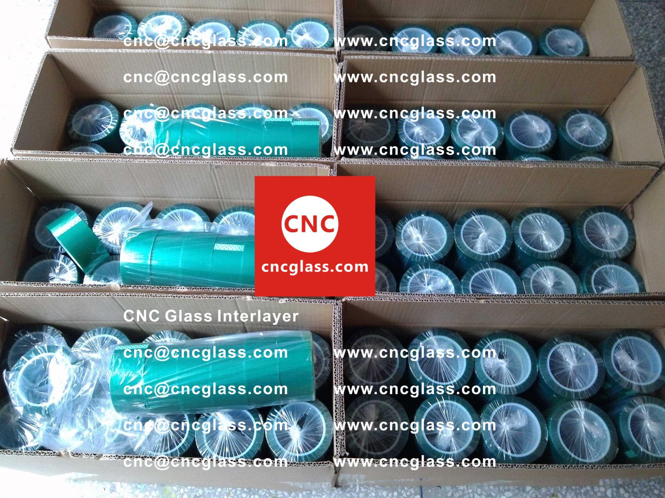 004 Green Tape for safety glazing, eva glass laminating