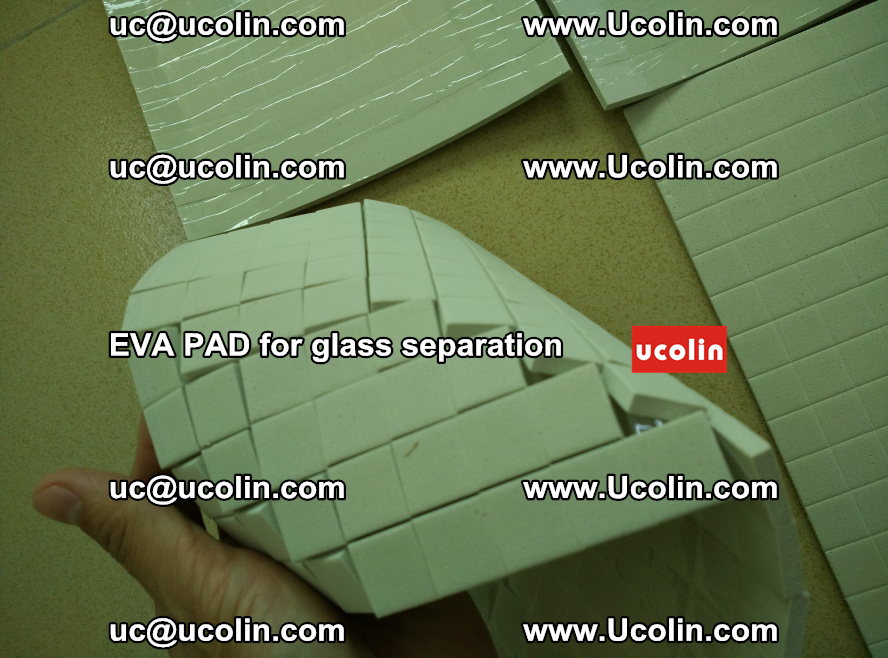 EVA PAD for safety laminated glass separation (15)