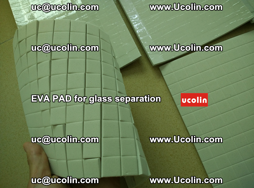 EVA PAD for safety laminated glass separation (2)
