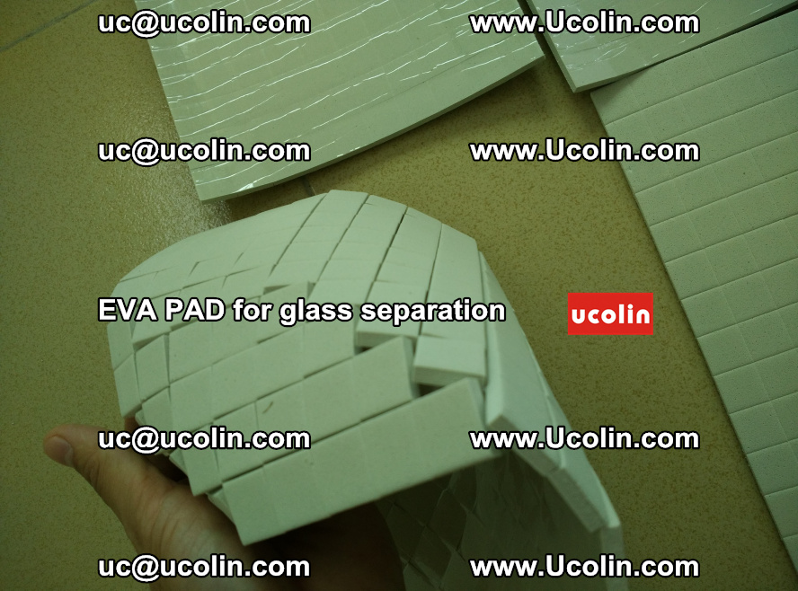 EVA PAD for safety laminated glass separation (20)