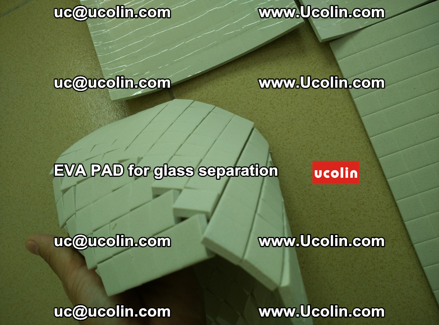 EVA PAD for safety laminated glass separation (22)