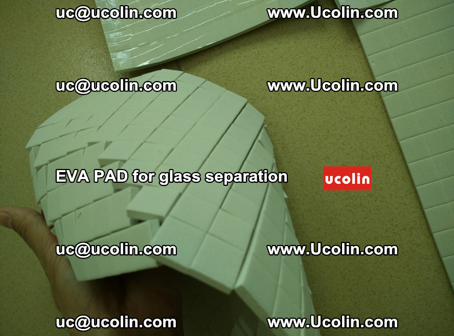 EVA PAD for safety laminated glass separation (25)