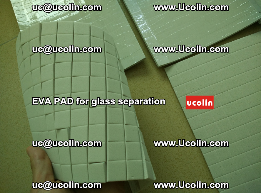 EVA PAD for safety laminated glass separation (3)