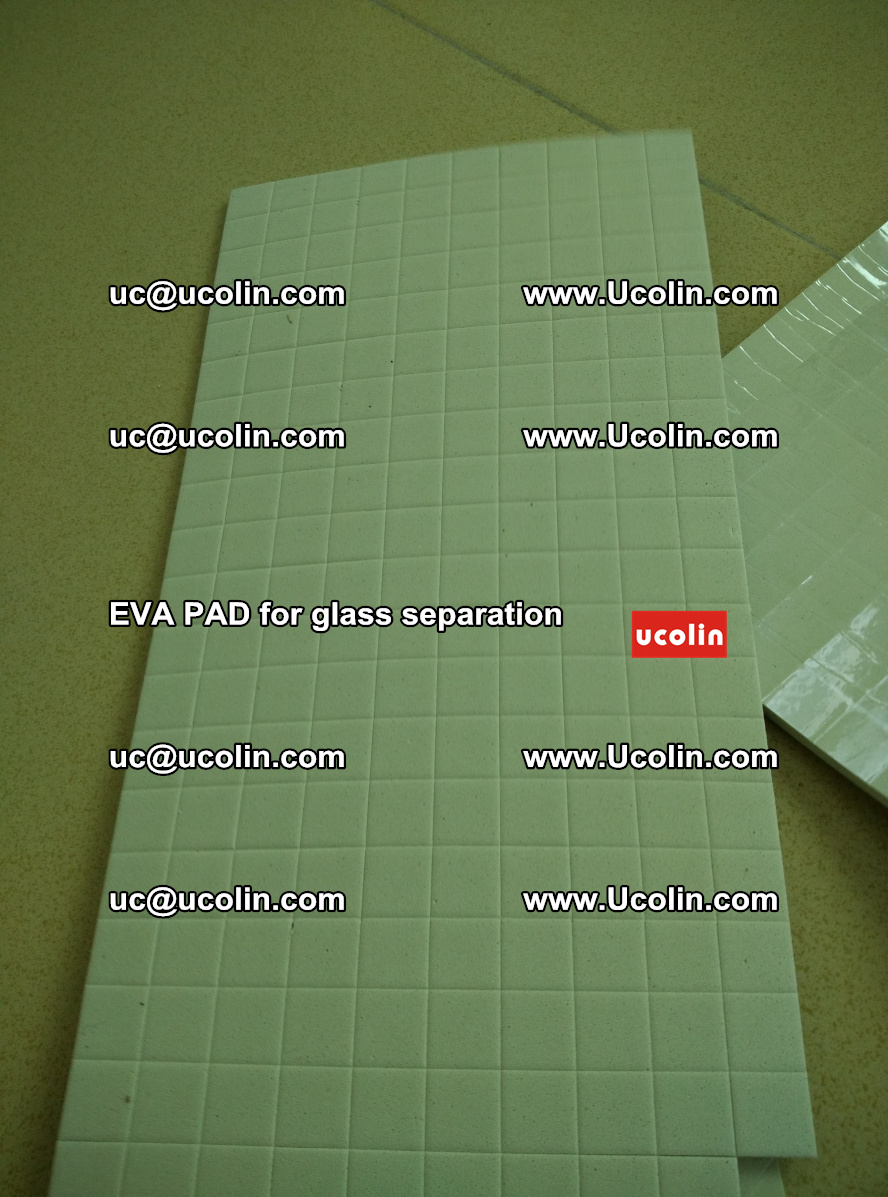 EVA PAD for safety laminated glass separation (33)