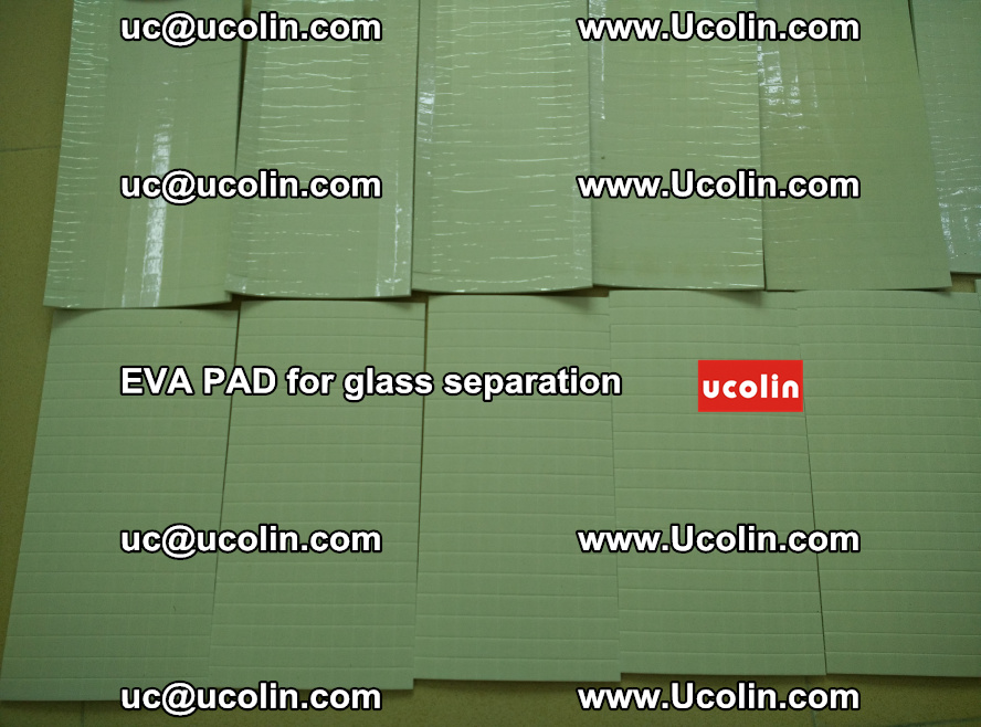 EVA PAD for safety laminated glass separation (53)