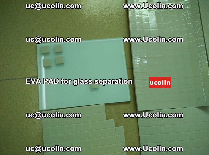 EVA PAD for safety laminated glass separation (63)