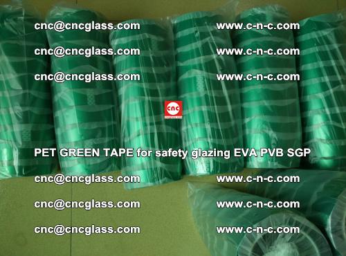 GREEN TAPE for EVALAM interlayer film lamination (100)