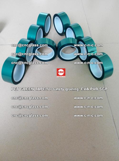 PET GREEN TAPE for safety glazing, EVA PVB SGP (2)