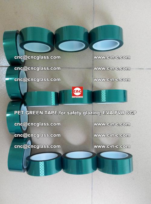 PET GREEN TAPE for safety glazing, EVA PVB SGP (21)