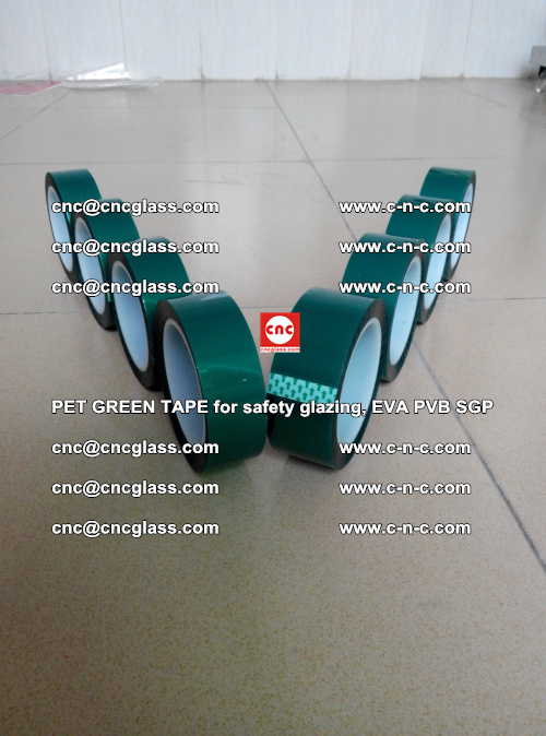 PET GREEN TAPE for safety glazing, EVA PVB SGP (27)