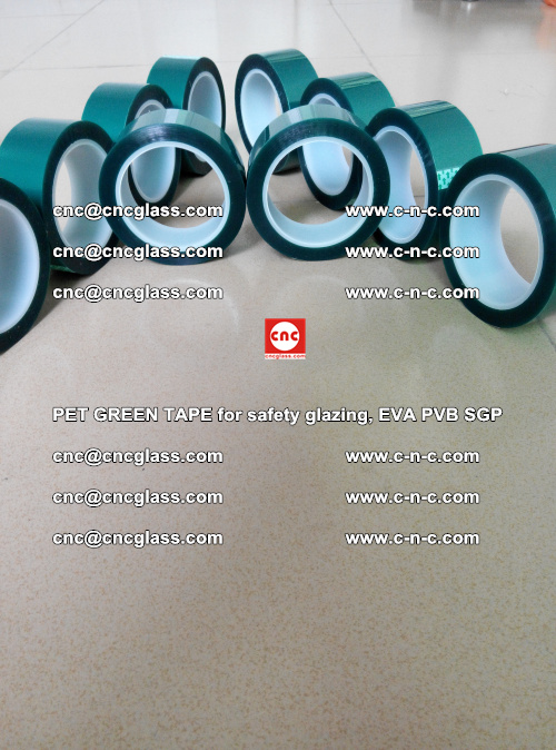 PET GREEN TAPE for safety glazing, EVA PVB SGP (28)