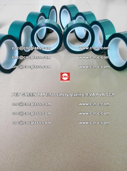 PET GREEN TAPE for safety glazing, EVA PVB SGP (31)