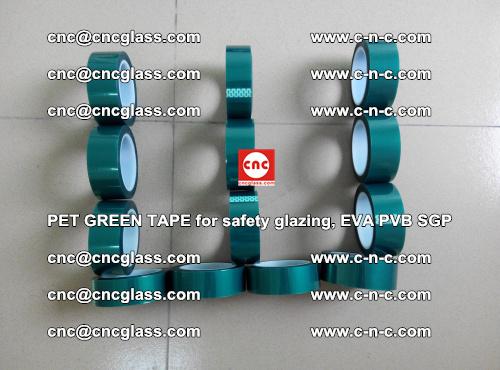 PET GREEN TAPE for safety glazing, EVA PVB SGP (34)