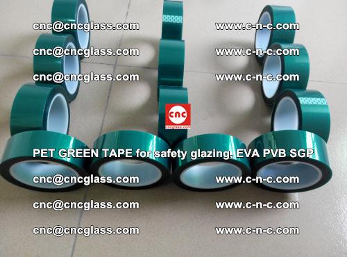 PET GREEN TAPE for safety glazing, EVA PVB SGP (36)