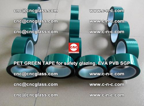 PET GREEN TAPE for safety glazing, EVA PVB SGP (37)