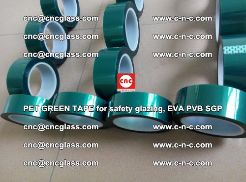 PET GREEN TAPE for safety glazing, EVA PVB SGP (38)