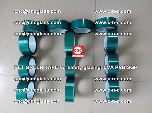 PET GREEN TAPE for safety glazing, EVA PVB SGP (41)