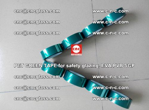 PET GREEN TAPE for safety glazing, EVA PVB SGP (42)
