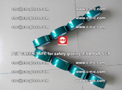 PET GREEN TAPE for safety glazing, EVA PVB SGP (43)