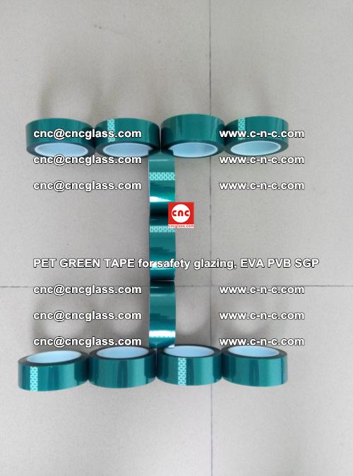 PET GREEN TAPE for safety glazing, EVA PVB SGP (53)