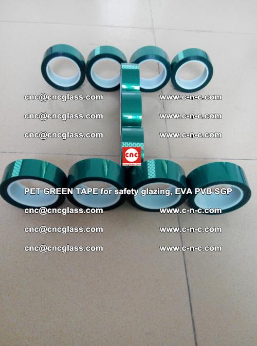 PET GREEN TAPE for safety glazing, EVA PVB SGP (56)