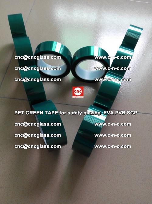 PET GREEN TAPE for safety glazing, EVA PVB SGP (6)