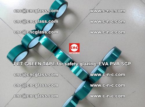 PET GREEN TAPE for safety glazing, EVA PVB SGP (62)