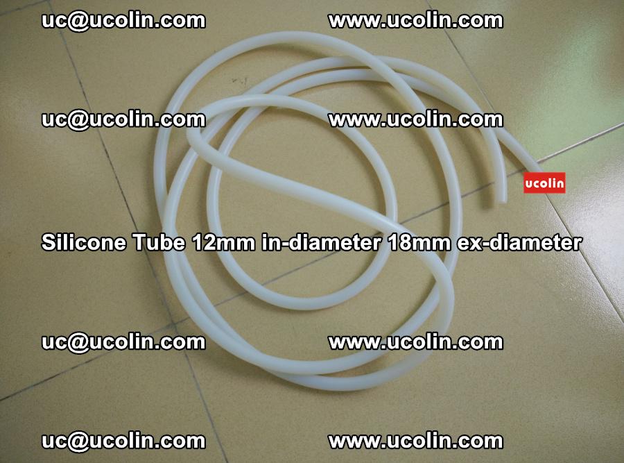 Silicone Tube for vacuuming EVA PVB SGP laminated glass glazing (37)