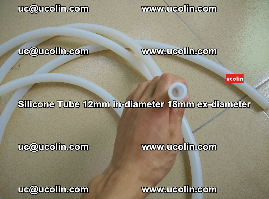 Silicone Tube for vacuuming EVA PVB SGP laminated glass glazing (53)