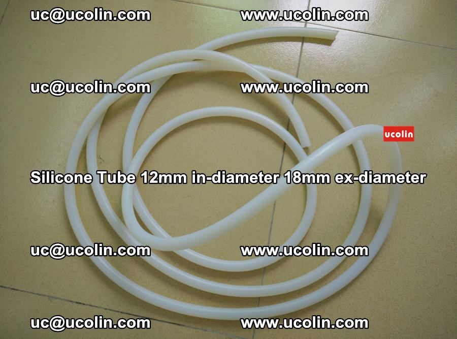 Silicone Tube for vacuuming EVA PVB SGP laminated glass glazing (72)