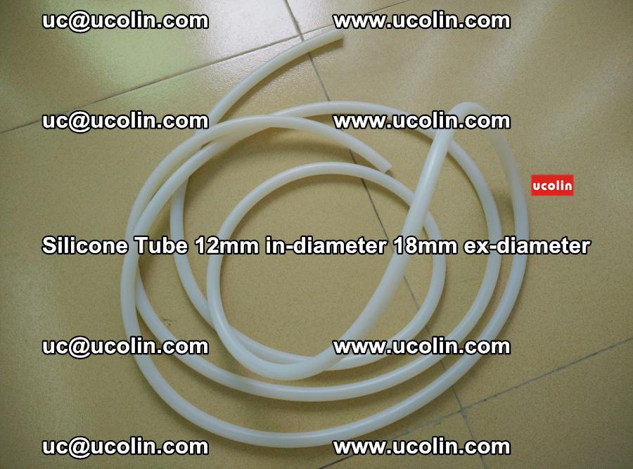 Silicone Tube for vacuuming EVA PVB SGP laminated glass glazing (80)