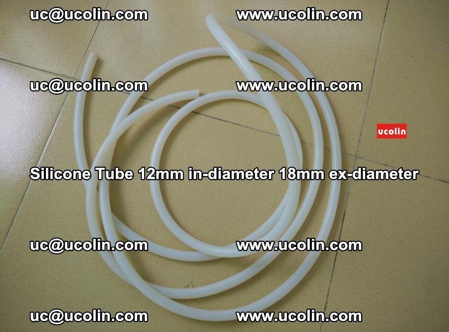 Silicone Tube for vacuuming EVA PVB SGP laminated glass glazing (92)