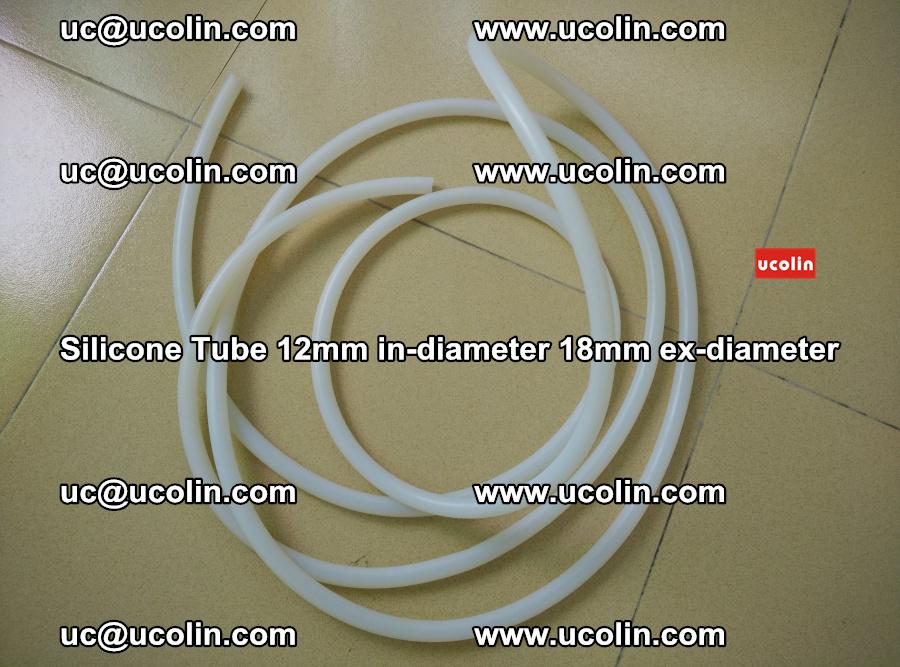 Silicone Tube for vacuuming EVA PVB SGP laminated glass glazing (94)