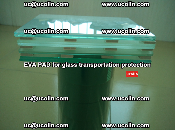 EVA CORK PAD for laminated safety glass transportation protection (10)