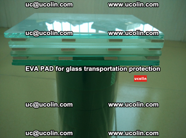 EVA CORK PAD for laminated safety glass transportation protection (19)